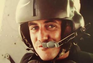 Lance Corporal John Gillespie on patrol (1971).